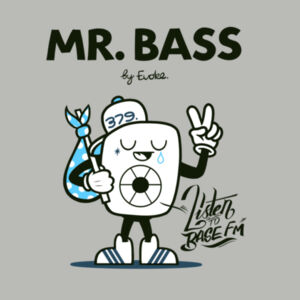 Mr. Bass Hoodie KIDS Design